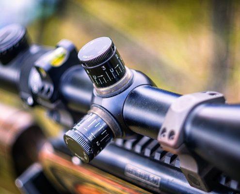 Våben og ammunition der må bruges til jagt